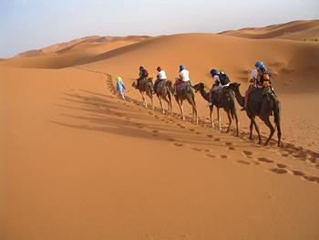 Dunes De Merzouga En 4x4 Et Dromadaires Bivouac Dans Le